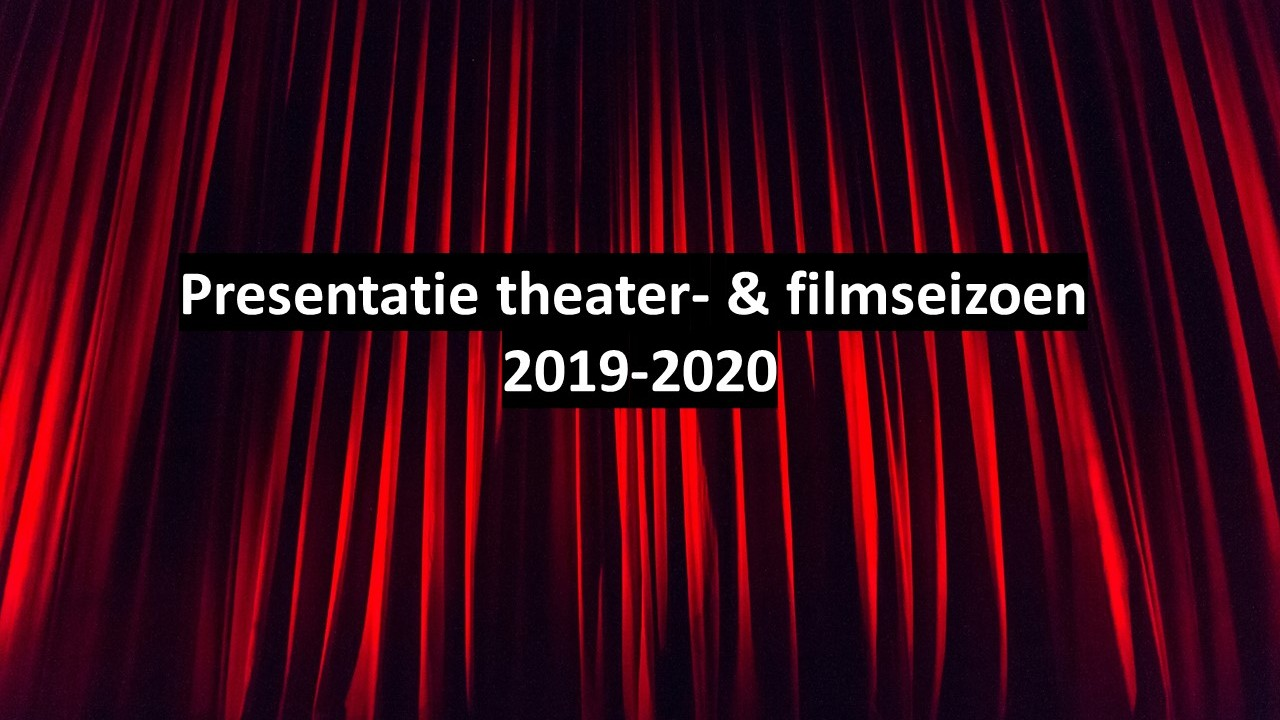 Aankondiging nieuw seizoen 2019-2020 Elckerlyc