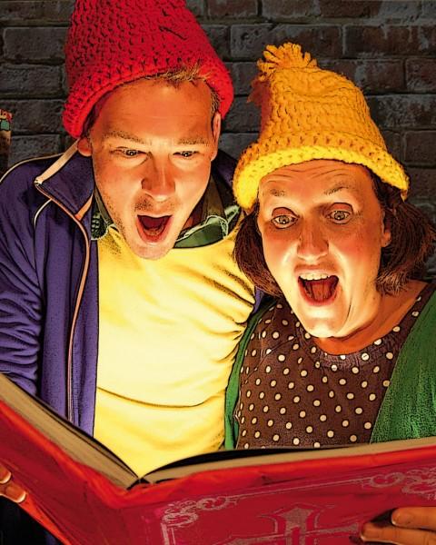 Job en Jette en het boek van Sinterklaas